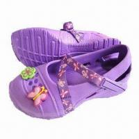 Buy cheap Children's Garden Shoes, Available in Various Upper Designs with Flexible and Soft Outsole Massaging from wholesalers