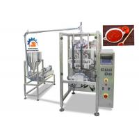 Buy cheap High Speed Liquid Packaging Machine For Ketchup / Fruit Jam 2.2Kw Power from wholesalers