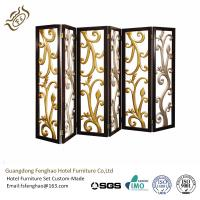 Buy cheap Ss Decorative Perforated Freestanding Room Divider For Hotel Lobby from wholesalers