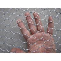Buy cheap Hot Dipped Galvanized Hexagonal Wire Netting , Silver Ornamental Wire Fence product