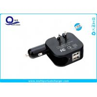Buy cheap 5V 2.1A High Output USB Car Wall Charger With US / EU / UK / AU Plug Socket from wholesalers
