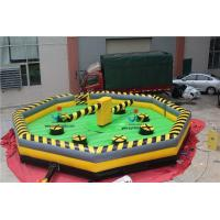 Buy cheap Diameter 8M Pvc Tarpaulin Inflatable Sport Game Product, Inflatable Meltdown, Wipeout Obstacle Course -BM07 from wholesalers