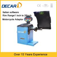 Buy cheap Italian technology car used wheel balancing machine WB200 from wholesalers