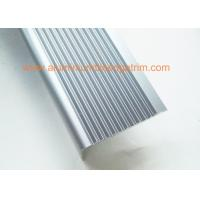Buy cheap Right Angle Slip Resistant Chrome Stair NosingAnodized Light Blue Color from wholesalers