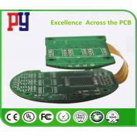 Buy cheap Multilayer Impedance Controlled Rigid Flex Circuit Boards PCB 1.6mm Immersion Gold from wholesalers