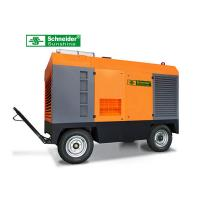 Buy cheap 75KW Portable Screw Air Compressor 10 m³/min 7 Bar Long Maintenance Cycle from wholesalers