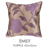 Buy cheap Bedroom Purple Jacquard Pillow Cover from wholesalers