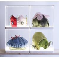 Buy cheap Simple acrylic display holders , clear display holders with white base product
