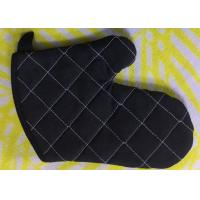Buy cheap Hook Design Cotton Kitchen Gloves Heat Resistant   Good Water Absorbtivity product