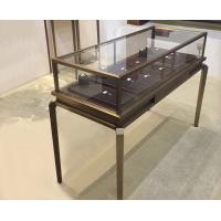 Buy cheap Multi Color Glass Jewelry Display Case / Modern Jewelry Showcases Luxury Style from wholesalers