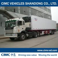 Buy cheap CIMC kogel tow truck for sale icecream truck and trailer refrigerated semi-trailer from wholesalers