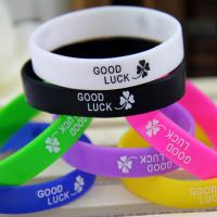 Buy cheap Screen Printed Silicone Bracelets for Promotion Gift from wholesalers