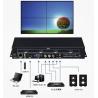 Buy cheap HDMI 1080P Video Wall Controller and VGA Video Wall Controller and support USB from wholesalers