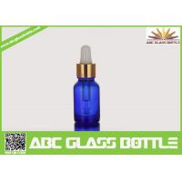 Buy cheap Free Sample Colorful Amber Blue 15ml Glass Dropper Bottle from wholesalers