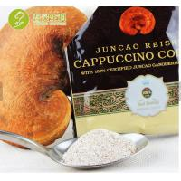 Buy cheap wholesale slimming coffee Chinese herbal lingzhi bulk instant cappuccino coffee with ganoderma extract powder from wholesalers