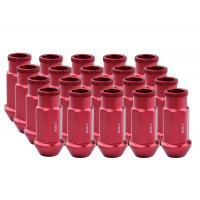 Buy cheap Durable Aluminum Wheel Lug Nuts Red Color For Fiesta / Toyota / Camry from wholesalers