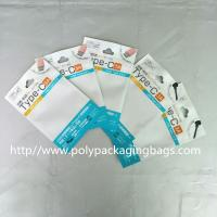 Buy cheap Color Clip Chain Packaging Poly Bags 10.5 * 15 for Noodle Line / USB / Car Charger from wholesalers