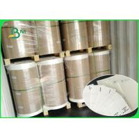 Buy cheap Roll Packing 350mm 370mm Uncaoted Water Absorbent Kraft Paper For Cup Coaster from wholesalers