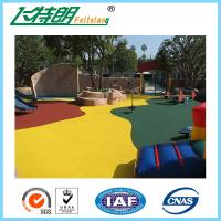 Buy cheap Red Green Yellow Soft Rubber Gym Mats For Sports Floor Durable Wear Resistance from wholesalers