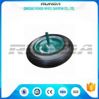 Buy cheap Square Pattern PU Foam Wheel 100-200KG Load , Hand Dolly Wheels4.00-8 Solid Axle from wholesalers