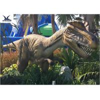 Buy cheap Animatronic Dilophosaurus Realistic Dinosaur Statues For Jurassic Theme Park product