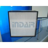 Buy cheap Fiberglass Media High Flow HEPA Filter With Advanced Sealing Performance from wholesalers