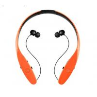 Buy cheap Neck Band Bluetooth Stereo Headphones, Noise Cancelling EarphonesMagnet Control from wholesalers
