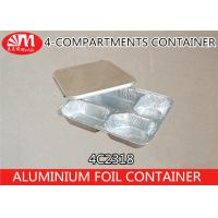Buy cheap 700ml Volume Aluminium Foil Products , Aluminium Foil Food Containers 4C2318 product