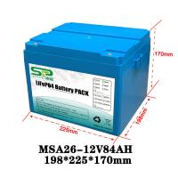 Buy cheap Li Polymer LiFePO4 12 Volt Lithium Battery Pack for Home Solar Energy System from wholesalers