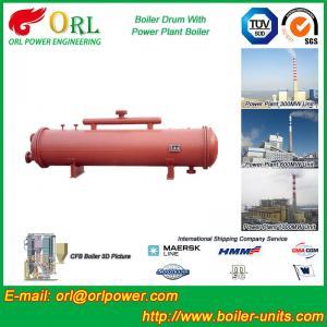Buy cheap Low Pressure Boiler Mud Drum CFB Boiler Spare Part ASTM Certification product