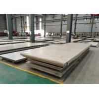 Buy cheap 316L Stainless Steel Plate 2000mm Width ASTM Corrosion Resistance Hot Rolled Pickled from wholesalers