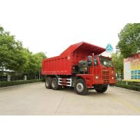 Buy cheap 371HP LHD Used Sino Dump Truck , Used Mine Dump Truck 70 Tons Loading Weight from wholesalers