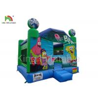 Buy cheap Inflatable airplane jumping castle 0.45-0.55mm PVC tarpaulin , unti-riptured from wholesalers