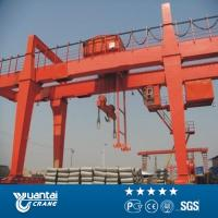 Buy cheap Yuantai large capacity MG double girder gantry crane with hook cap from wholesalers
