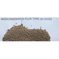 Buy cheap Agglomerated flux SJ102 for hardfacing steel mill roller from wholesalers