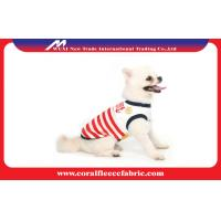 Buy cheap Lovely Girl / Boy Dog Clothes Sailor T-shirt with Navy Stripe , Pet Accessories from wholesalers