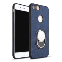 Buy cheap Leather Ring Holder Reusable Rotates 360 Degree Cell Phone Holder Case Ring For iphone 8 from wholesalers