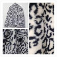Buy cheap Leopard Print Cropped Faux Fur Jacket S - XL Optional For Young Ladies product