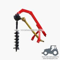 Buy cheap tractor 3point hitch post hole digger with different sizes Augers available product