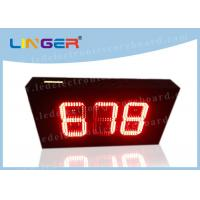 Buy cheap 888 Format Red Countdown Timer , Countdown Electronic Timer Customized Design from wholesalers