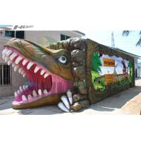 Buy cheap 7.1 Audio system Mobile and  product promotion 5D cinema cabin with dinosaur box product