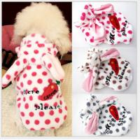 Buy cheap bear pet clothes,pet apparel,dog coat from wholesalers