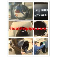 Buy cheap ASTM A234 WPB pipe fittings from wholesalers