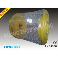 Buy cheap 0.9mm / 1.0mm Yellow PVC Inflatable Water Roller / Walker YHWR 002 from wholesalers