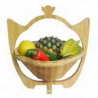 Buy cheap Bamboo Fruit Basket for Storage and Home Decoration, OEM Orders Accepted from wholesalers