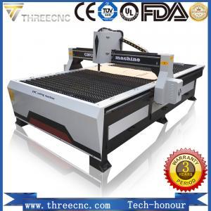 Buy cheap cnc plasma cutting machine prices TP1325-125A with Hypertherm plasma power supplier. THREECNC product