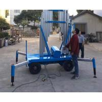Buy cheap High Chassis Specially Outdoor Aerial Working Aluminum Mast Elevated Work Platform from wholesalers
