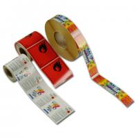 Buy cheap blank roll adhesive label without printing from wholesalers