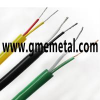 Heat Resistant Thermocouple Wire : Heat resistant teflon insulated thermocouple compensating