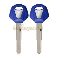 Buy cheap Yamaha Uncut Embryo Motorcycle Key Shell Blue Head Blanks Precision Milled product